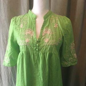 Theme Green Dress Size M